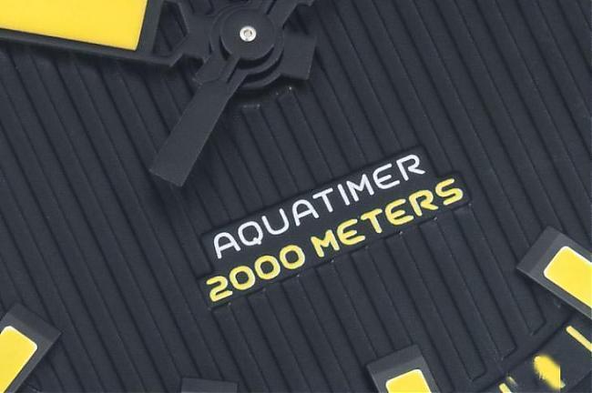 防水2000米是如何炼成的 IWC Aquatimer 2000;IWC;万国表