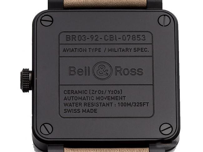 军风陶瓷大三针 BELL&ROSS BR03-92 vs IWC马克十八;BELL&ROSS;柏莱士;IWC;万国表