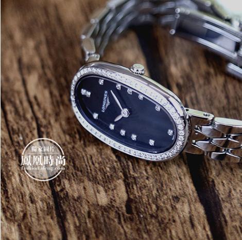 浪琴表圆舞曲系列腕表实拍图
