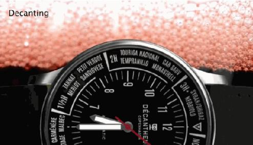 这个机械手表能醒酒能计时