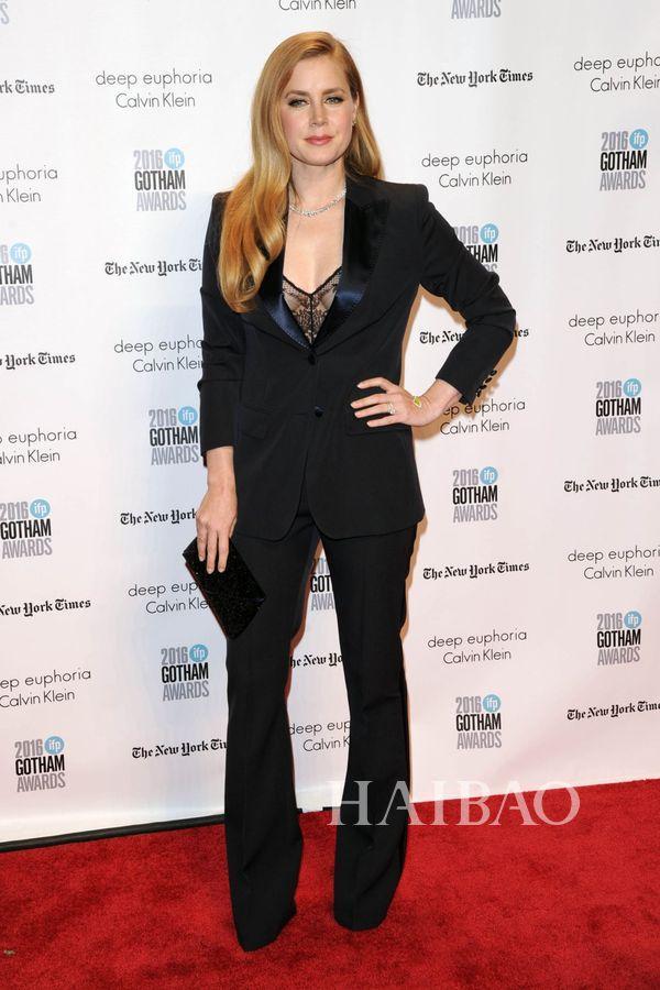 艾米·亚当斯(Amy Adams) 现身2016年哥谭独立电影奖